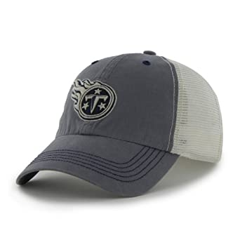 NFL Tennessee Titans Mens Caprock Canyon Cap, One Size, Navy by