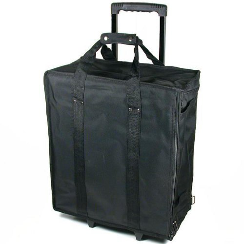 Large Jewelry Display Rolling Carrying Case W/ 17 Trays (Portable Display Case compare prices)