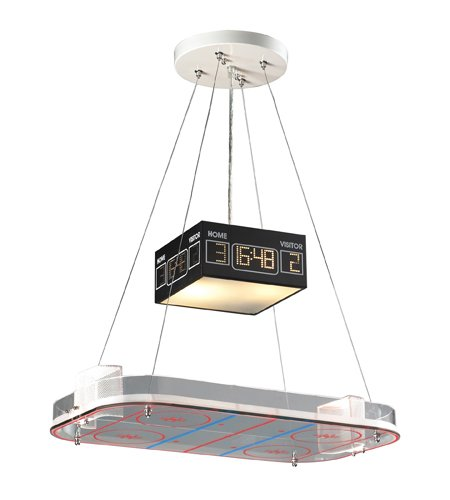 Elk 5138/2 2-Light Pendant In A Hockey Motif