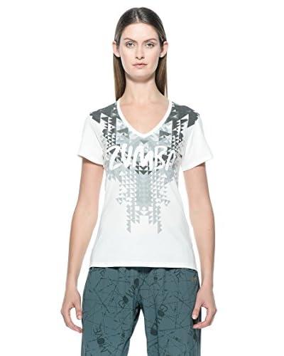 Zumba T-Shirt Tri-Me [Bianco]