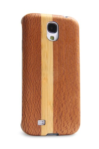 Best iFrogz GS4NAT-CHE Natural Case for Galaxy S4 –  Wood – 1 Pack – Retail Packaging – Brown (online)