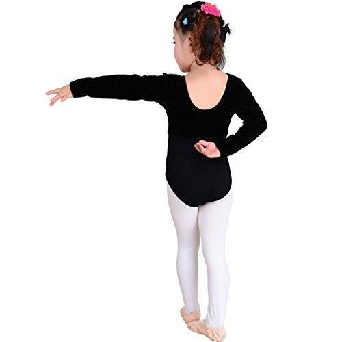 Kukome(TM) Ballettanzug Gymnastikanzug Ballett Turnanzug für Mädchen und Frauen