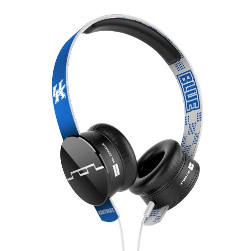 Sol Republic 1211-Uky Collegiate Series Tracks On-Ear Headphones With Three Button Remote And Microphone - University Of Kentucky