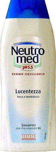 12 x NEUTROMED Shampoo Lucentezza Ph 5.5 250 Ml