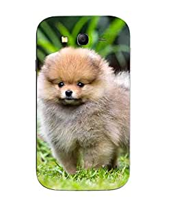 Snazzy Dog Printed Multicolor Hard Back Cover For Samsung Galaxy J1