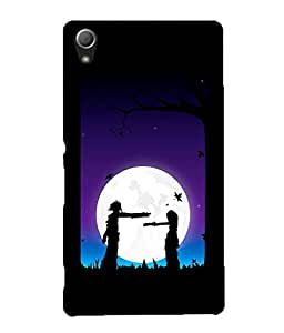 Crazymonk Premium Digital Printed 3D Back Cover For Sony Xperia Z5