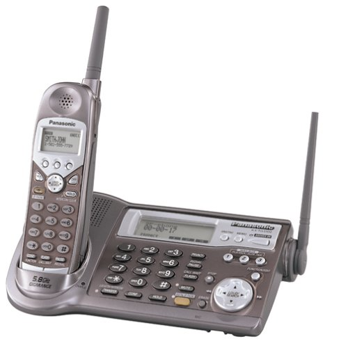 Panasonic Kx-Tg5100M 5.8 Ghz Dss Expandable Cordless Phone With Answering System