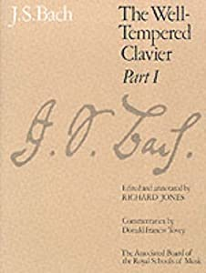The Well-tempered Clavier Pt 1 Signature from Associated Board of the Royal Schools of Music
