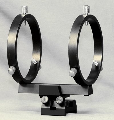 80 Mm Finderscope Rings For Schmidt-Cassegrain Scopes