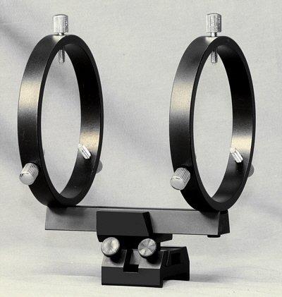80 Mm Finderscope Rings For Schmidt-Cassegrain Scopes
