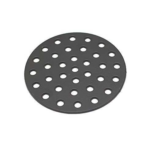Aura Outdoor Products AOP-LFGC Cast Iron Charcoal Fire Grate for Large Big Green Egg, Kamado Joe