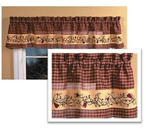 Country Hearts Valance 14 X70 Home Kitchen