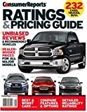 img - for Consumer Reports Ratings & Pricing Guide Unbiased Reviews and Recommended Vehicles book / textbook / text book