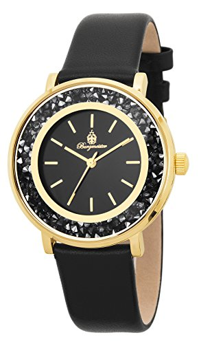 Burgmeister Damen-Armbanduhr Analog Quarz Leder BM537-222