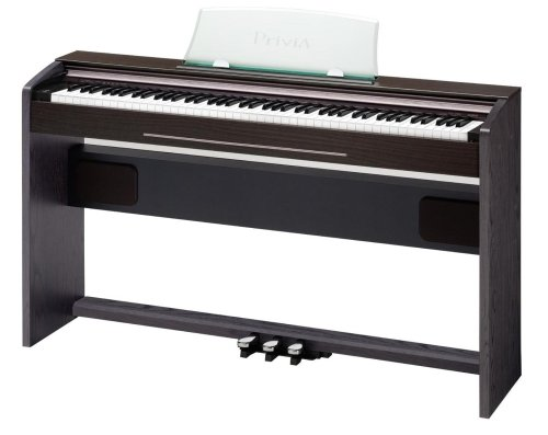 CASIO PX-720 - Privia Digital Piano - Ash Walnut And Dark Wenge Tone Finish