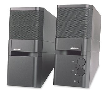 Bose Mediamate - Pc Multimedia Speakers - Graphite