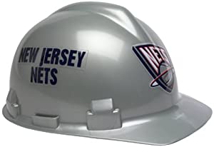 New Jersey Nets Hard Hat by Caseys