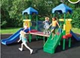 SAVE $110.16 - Sport Play 902-845 Fun Center - Curved Slide $367.20