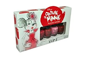 OPI Mini Disney Couture De Minnie 2013
