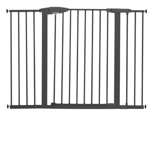 Munchkin-Easy-Close-Extra-Tall-and-Wide-Metal-Gate-Dark-Grey