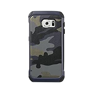 Reiko Design Hybrid Leather Protector Cover For Samsung Galaxy S6