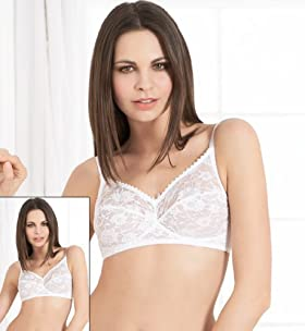 2 Pack - All-Over Floral Lace Non-Wired Bras