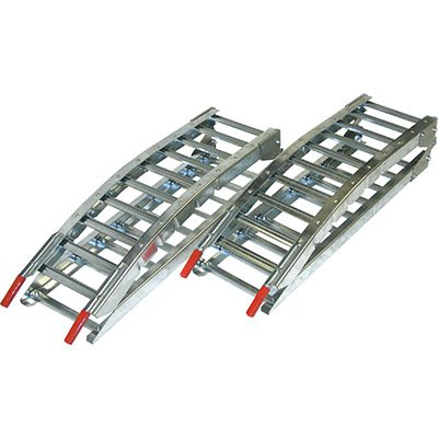 West 8ft. Folding Arched Ramps - 1200-Lb. Capacity, Model# 1221W