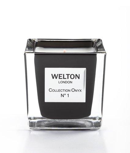 WELTON LONDON ウェルトンロンドン ONYX COLLECTION フレグランスキャンドル 150g NO.1