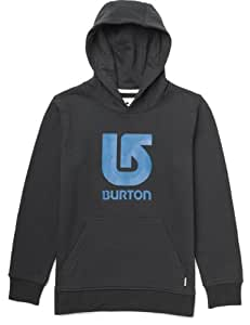 Burton Jungen Pullover Boys Logo Vertical, True Black, 128/134, 11169100002
