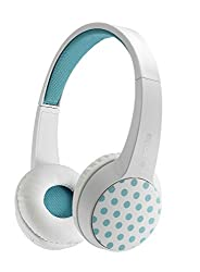 Auawak Rapoo S100 Bluetooth Fashionable Stereo Wireless Headset With Built-in Microphone for ipad iPhone and Laptops Desktops PC - White