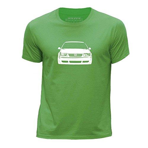 stuff4-ragazzi-eta-12-14-152-164cm-verde-girocollo-t-shirt-stampino-auto-arte-bora-jetta