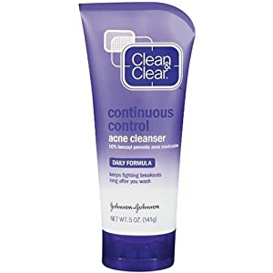 Clean & obvious steady look after pimple Cleanser, 5-Ounce Tubes (Pack of 4)