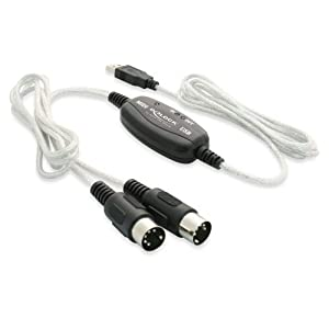 DeLOCK USB 2.0 > Midi - Adaptateur MIDI - Hi-Speed USB