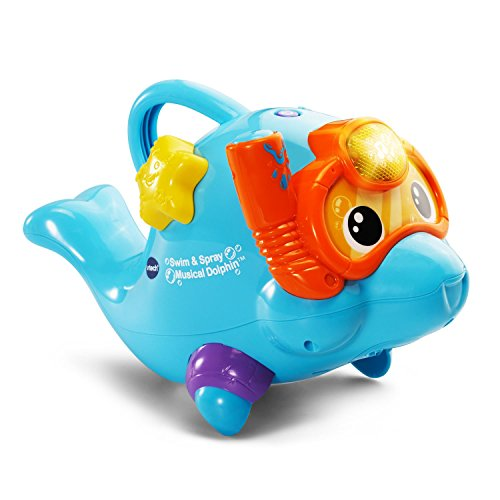 VTech-Swim-Spray-Musical-Dolphin