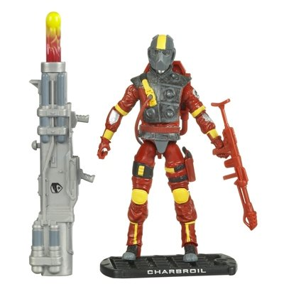 Charbroil Flamethrower Action Figure - GI Joe Movie: Rise of Cobra
