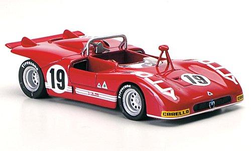 Alfa Romeo 33 3 No 19 Zeccoli Alberti Interlagos 1972 Model Car Ready made M4 1 43