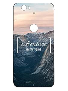 Nexus 6P Cases & Covers - Adventure - Designer Printed Hard Shell Case