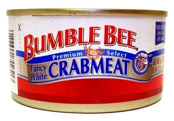 Bumble Bee, Premium Select, Fancy White Crabmeat, 6oz Can (Pack of 6) (Can Crab Meat compare prices)