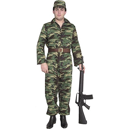 Men's ARMY GI Costume (Size: Small 36-38)