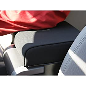 Rugged Ridge 13107.01 Black Neoprene Arm Rest Pad