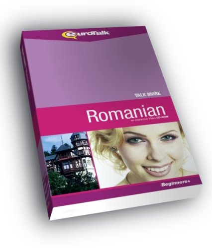 Talk More Romanian: Interactive Video CD-ROM - Beginners+ (PC/Mac)