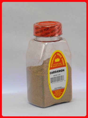 CARDAMOM GROUND FRESHLY PACKED IN LARGE JARS,