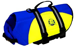 Paws Aboard By1300 Neoprene Doggy Life Jacket by Paws Aboard