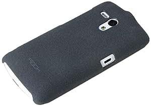 Rock Quicksand Mobile Backcase for Sony Ericson Xperia Neo L MT25i (Dark Gray)