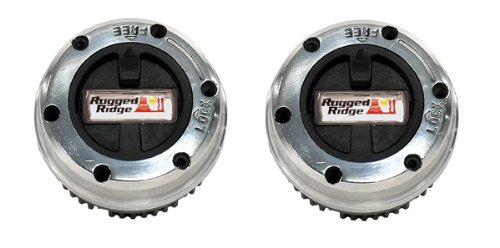 Rugged Ridge 15001.18 19 Spline Internal Mount Manual Locking Hub