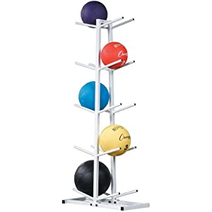 Olympia Sports BE231P Medicine Ball Tree Rack - Double by Olympia Sports