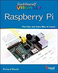 Teach Yourself Visually Raspberry Pi With White Earbud Headphones