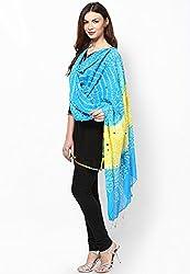 Soundarya Ethnicwear Cotton Bandhej Handwork Dupatta for Women (3064)