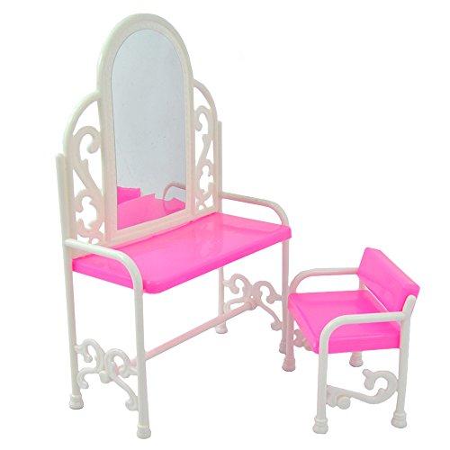 E-TING Schöne Plastic Dressing Tisch & Stuhl