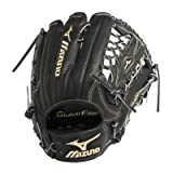 Mizuno GGE70VBK Global Elite VOP Baseball Fielder's Mitt (Black, 12.75-Inch)